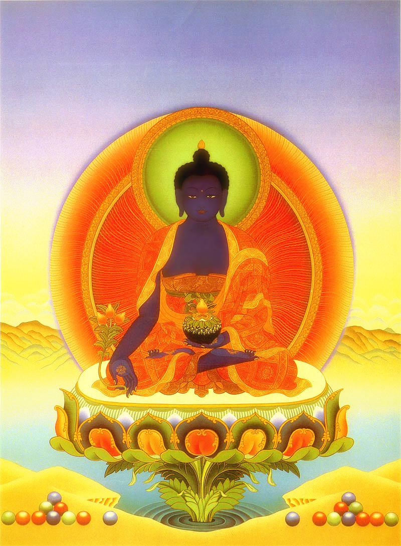 佛像《琉璃药师佛》 - 正觉 - 正觉博客
